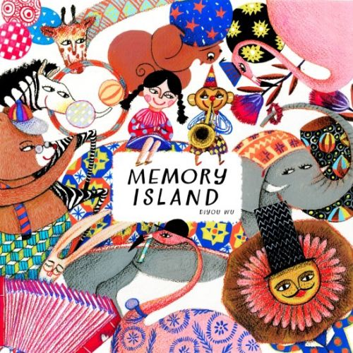 Memory Island Picture Book Comic Art