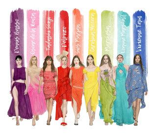 Illustration & artwork of New York Fashion Week