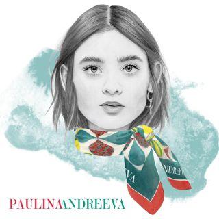 Paulina Andriva portrait painting by Dena Cooper