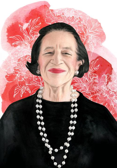 portrait of Diana Vreeland