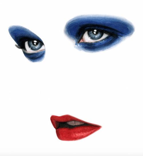 Gif Animation of eyes and lips