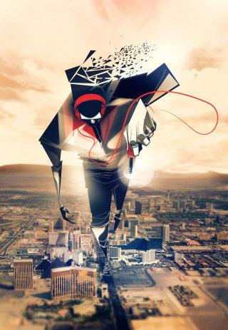 music nomads graphic design