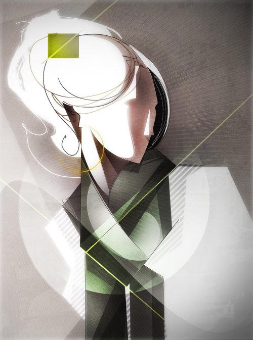 Illustration graphique de la mode femme