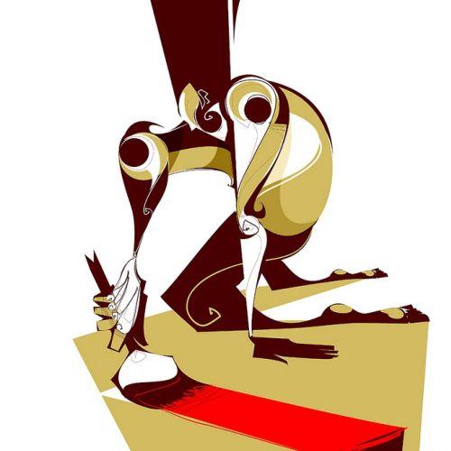 Graphic illustration of vector art