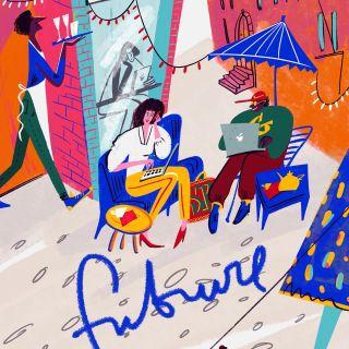 Dina Ruzha - New Canaan, United States based illustrator