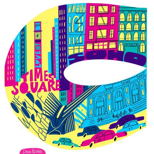 Série de Ilustrações NYC