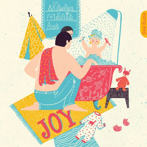 "SERIES OF ILLUSTRATIONS ""FAMILY JOY"""