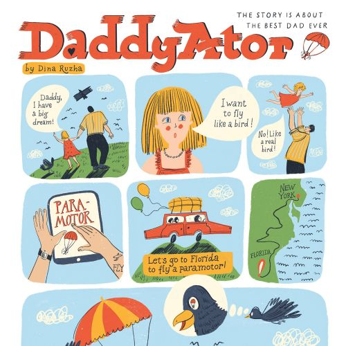 GRAPHIC NOVEL FOR FATHER'S DAY