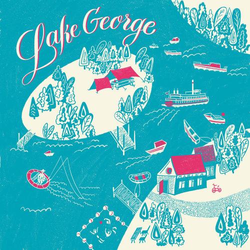 Pôster Lake George
