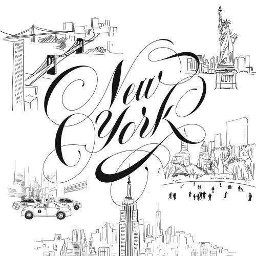 Postcard NYC