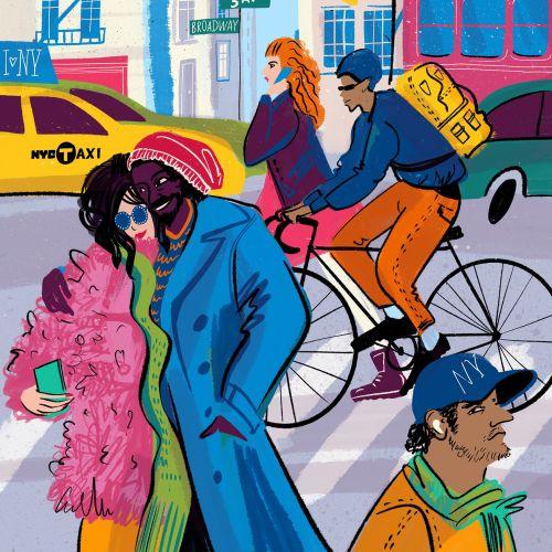 Dina Ruzha Personas Illustrator from United States