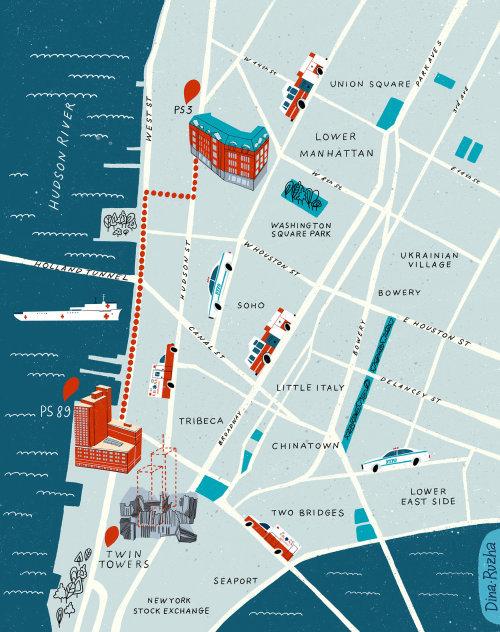 El mapa de Manhattan