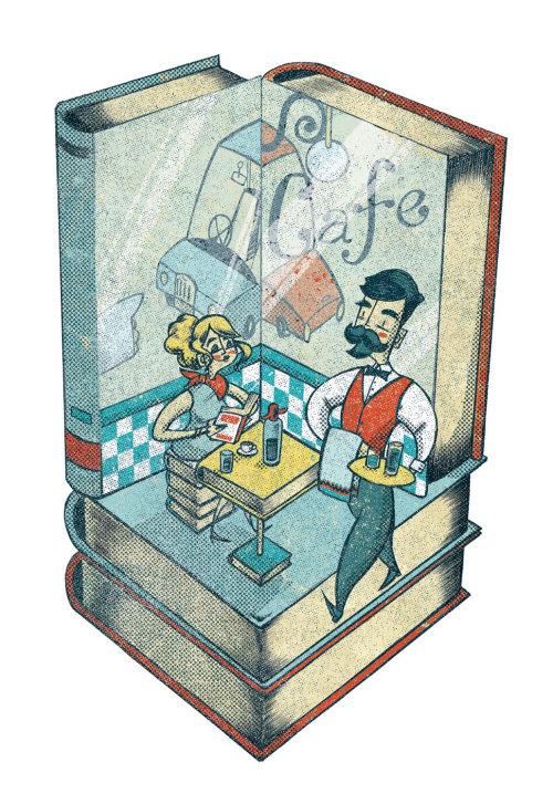 Book café Restaurant