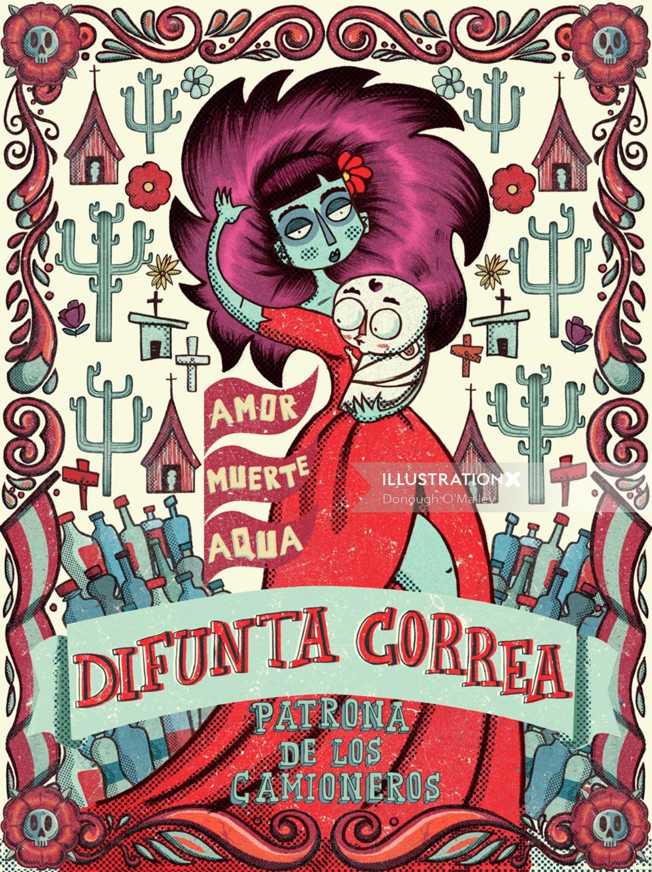 Difunta Correa art