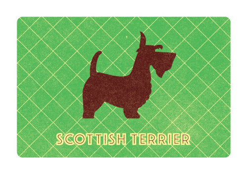 Cartão de Terrier do Scottish