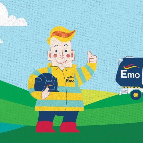 Emo Oil Advertising