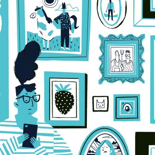 Drew Bardana Estilo de vida Illustrator from USA