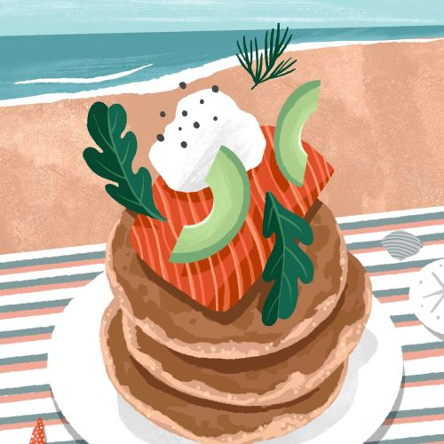 Recipe highlighting California Avocados