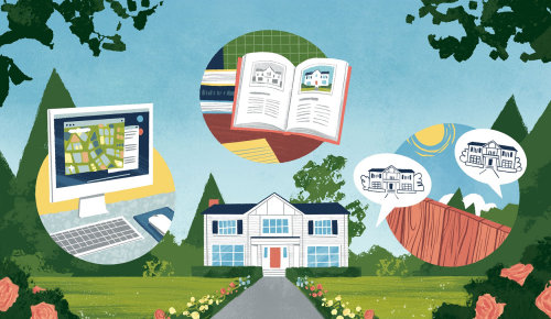 Editorial researching history of your home