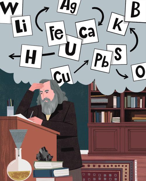Dmitri Mendeleev e a Tabela Periódica