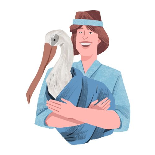 Marjory Stoneman Douglas with Pelican Rescue