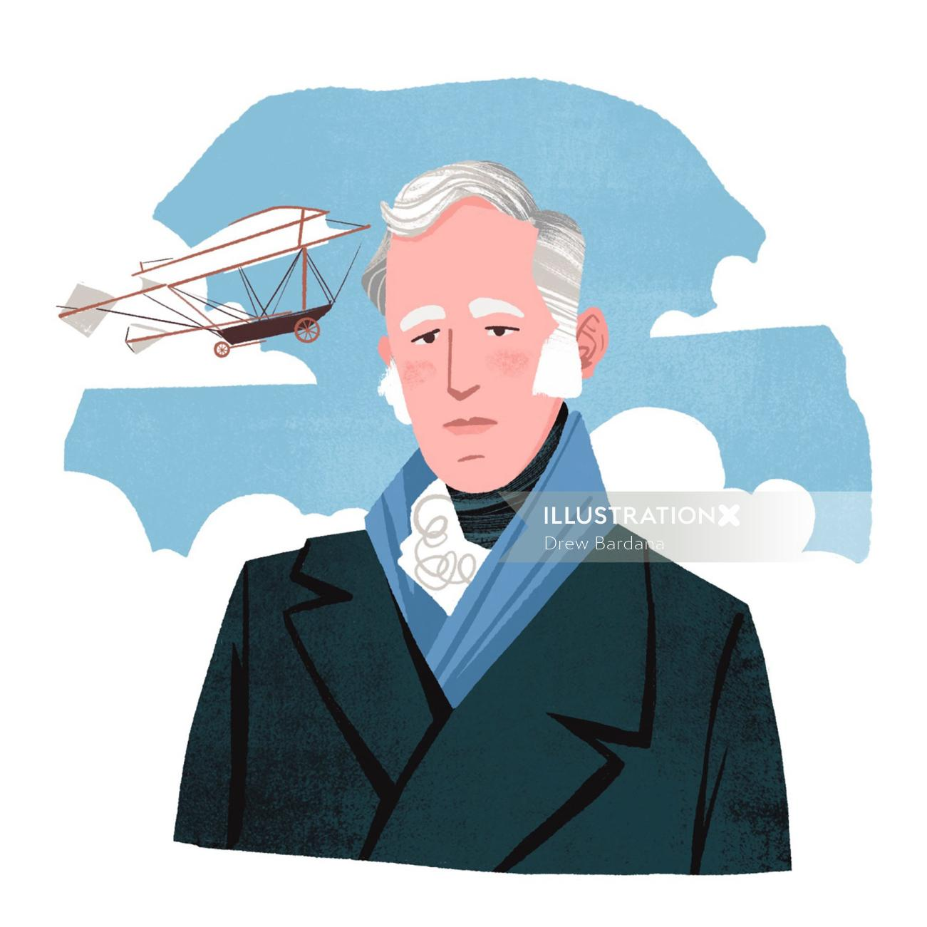 George Cayley and His Model Glider