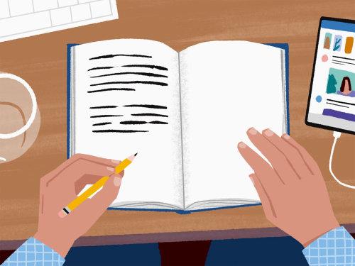 Estudos de diário