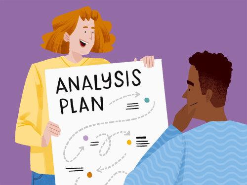 Apresente seu plano de análise