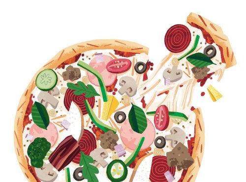 Pizza Sobrecarregada