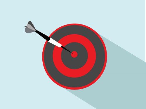 Graphic illustration target