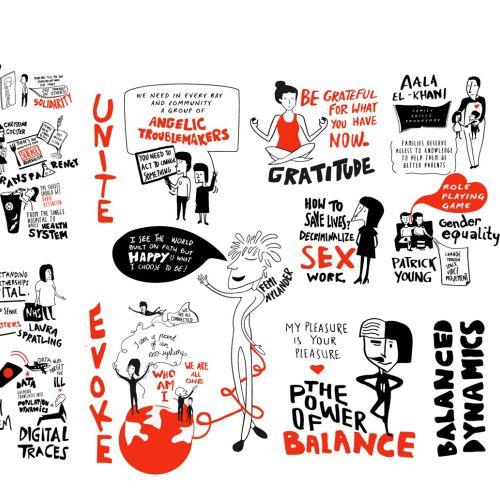 TedX LSHTM illustration