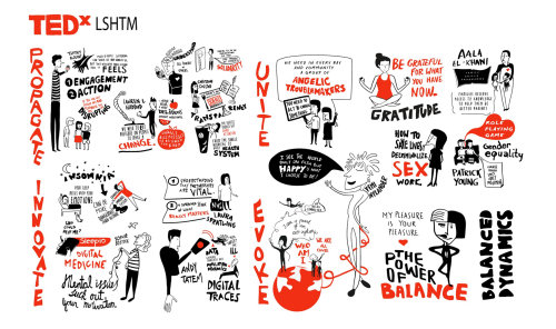 TedX LSHTM illustration