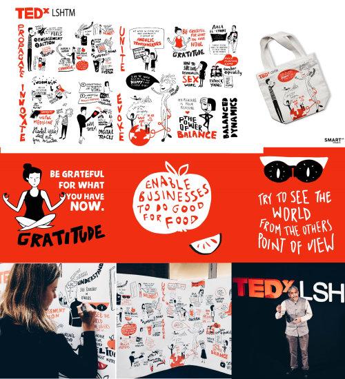 Graphic Tedx Gratitude