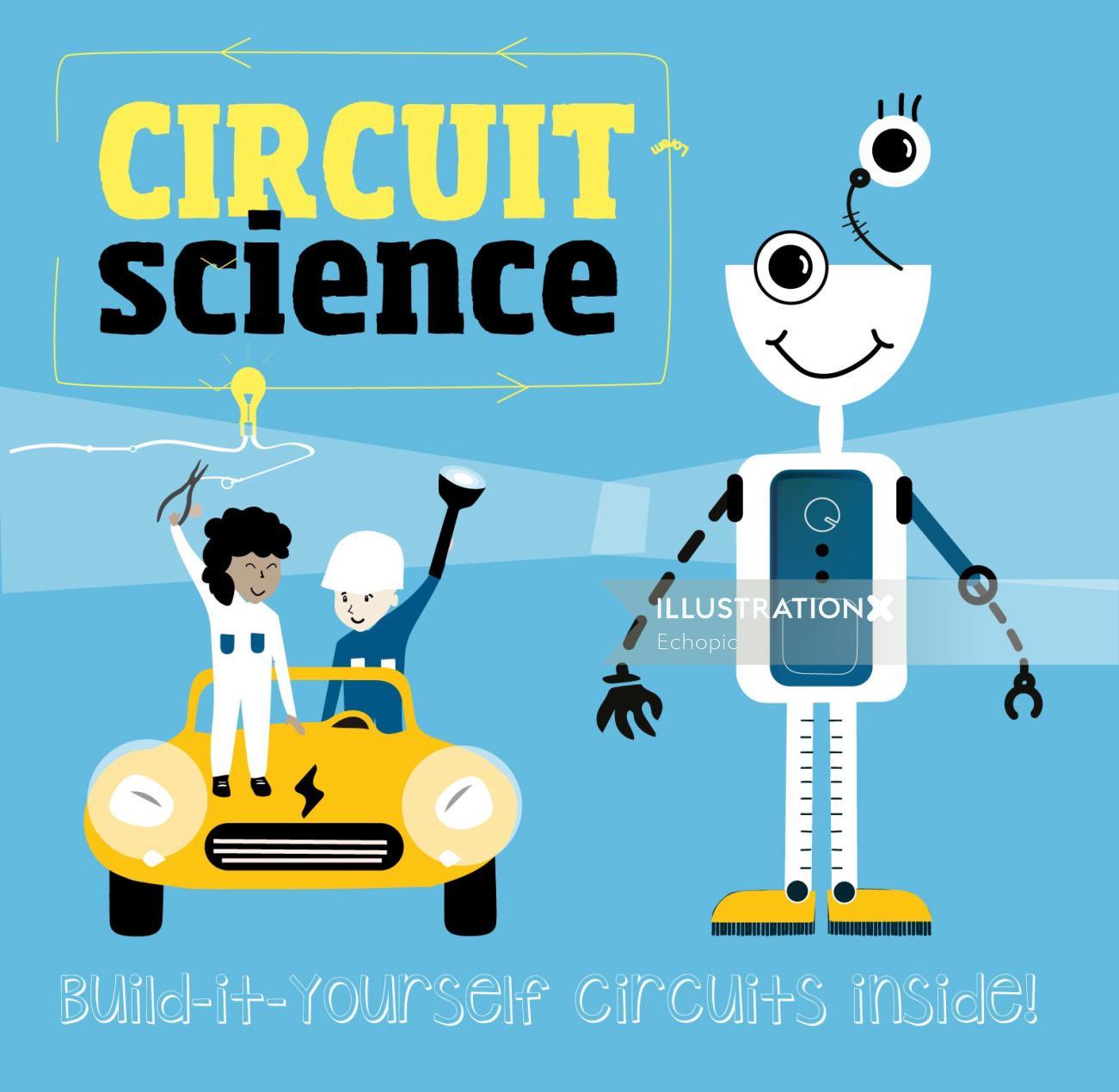 Graphic circuit science