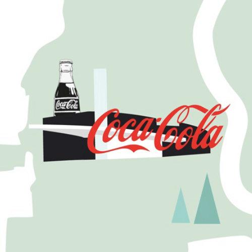 Food & Drink Cocacola illustration