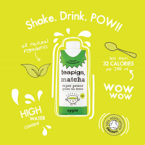 Graphic product teapigs matcha