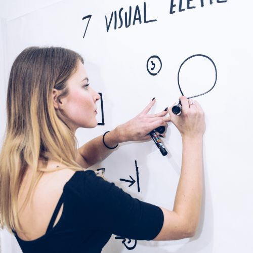 Graphic facilitations and graphic recording for events