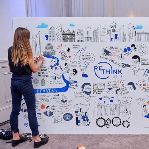 Re-Think graphic recording