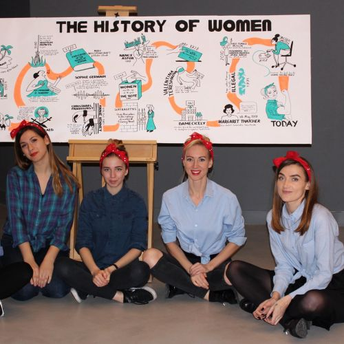 Live Scribing The History of Women