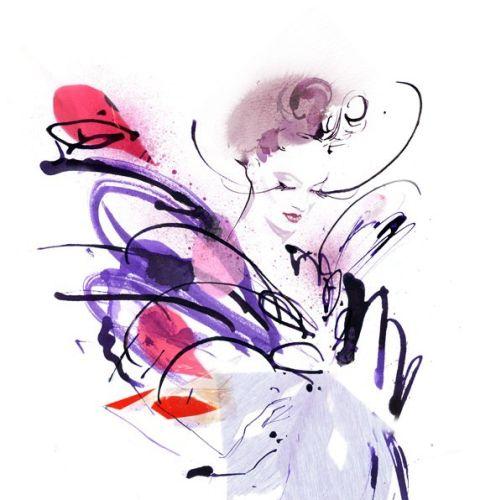 Elena Viltovskaia International Fashion & Beauty illustrator. Toronto
