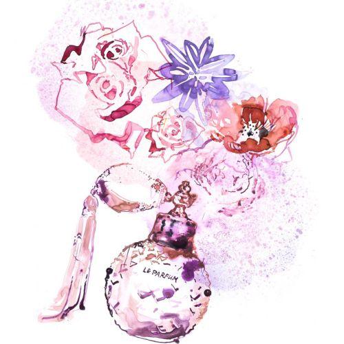 Fragrance Special cover design for Elle Canada magazine