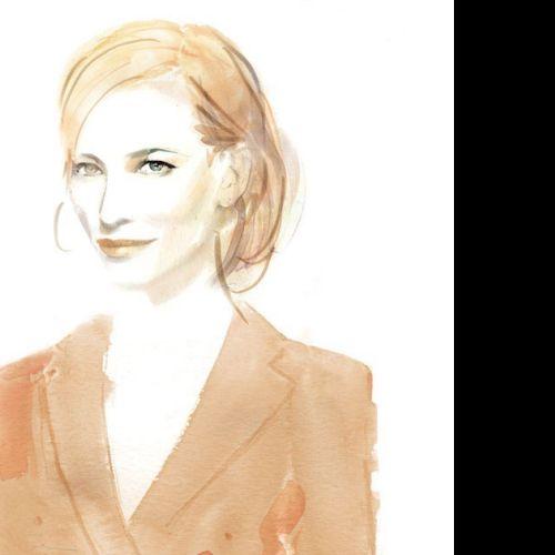 Fashion Portrait Of Cate Blanchett