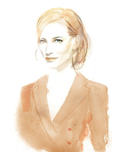 Fashion Portrait Of Cate Blanchett