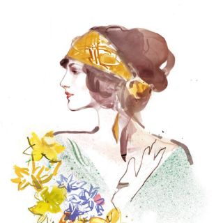 Beauty Illustration By Elena Viltovskaia