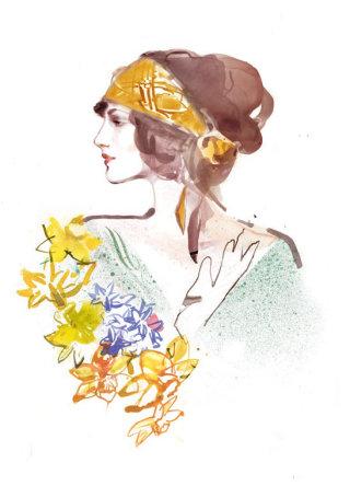 Beauty Illustration By Elena Viltovskaia