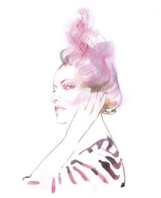 Fashion Illustration By Elena Viltovskaia
