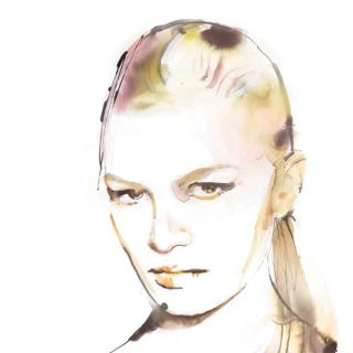 Women's Hairstyle Illustration For Marie Claire
