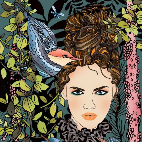 Ella Tjader People Illustrator from Switzerland