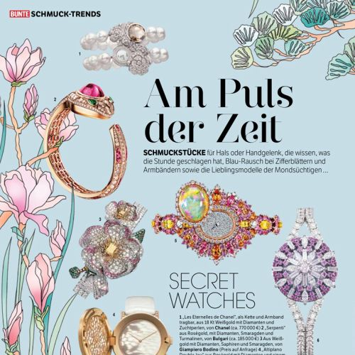 Editorial art for Am Puls der Zeit