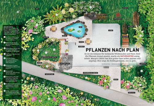 Contemporary artwork for Pflanzen Nach Plan